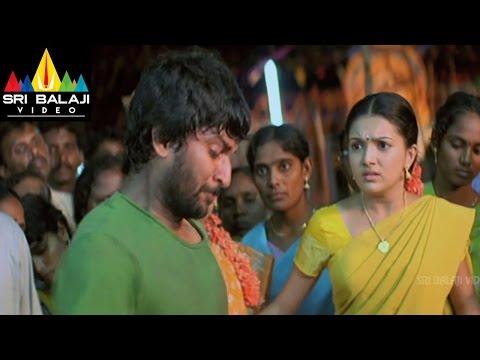 Bheemili Kabaddi Jattu Movie Nani Fight Scene | Nani, Saranya Mohan | Sri Balaji Video