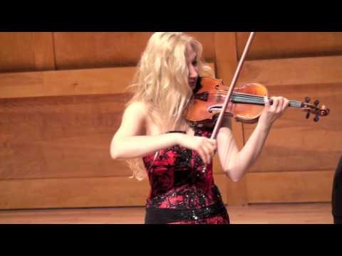 Joanna Kaczorowska, violin   Piazzolla: Oblivion