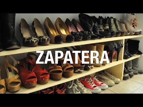 Construye tu propia zapatera de madera superholly youtube for Zapateras de madera