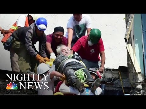 Rescuers Race Against Time After Deadly Mexico Earthquake   NBC Nightly News