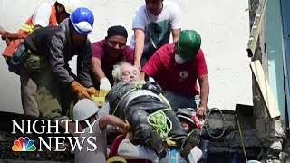 Rescuers Race Against Time After Deadly Mexico Earthquake | NBC Nightly News