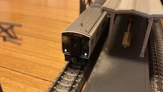 817系3000番台+813系200番台  快速門司港行き 発車