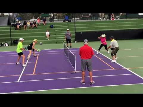 Palm Desert Resort Pickleball Tournament Gold Medal Match 3.5 Mixed Doubles