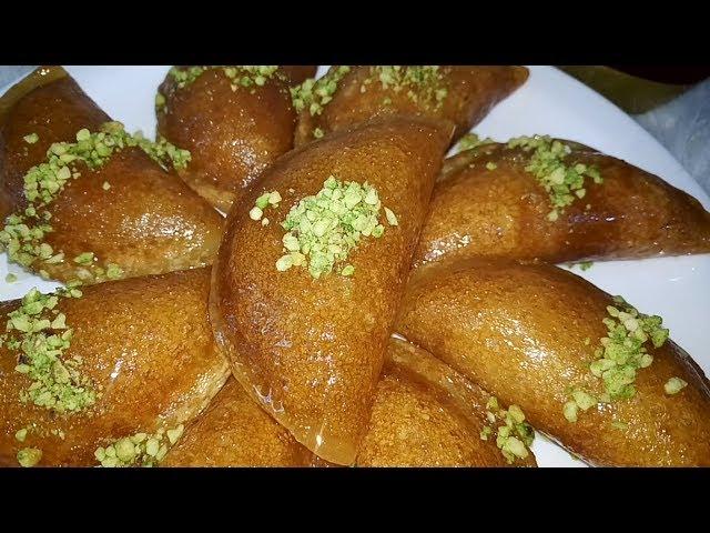 مطبخ أم أسيل: حلويات رمضانية ????القطايف الشامية سهلة سريعة و طعم و لا أطيب