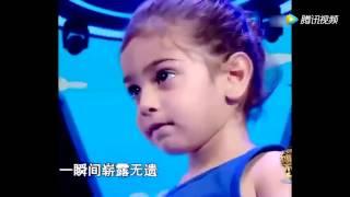 2歲女孩登上央視,一出場驚呆全場!