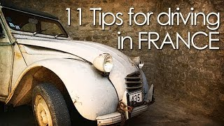 11 Tips for driving in France