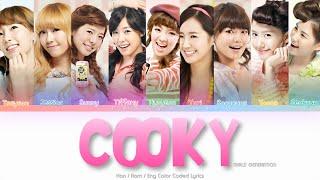 Girls' Generation (소녀시대) Cooky Color Coded Lyrics (Han/Rom/Eng)