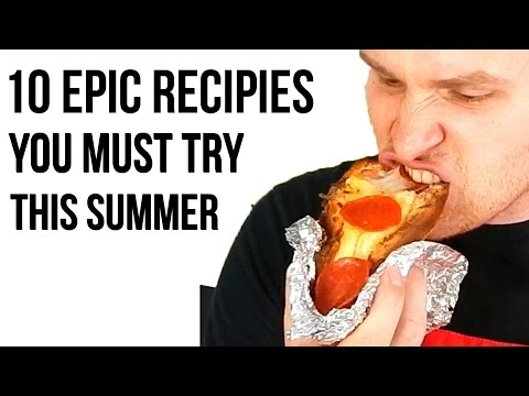 10 EPIC RECIPES YOU MUST TRY THIS SUMMER (Simple!) - Inspire To Cook