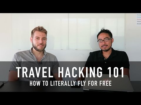 TRAVEL HACKING 101: HOW TO FLY FOR FREE (MASTERCLASS WITH DE