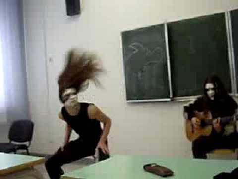 Смотреть клип Black Metal in School / Блэк Метал в школе онлайн бесплатно в качестве