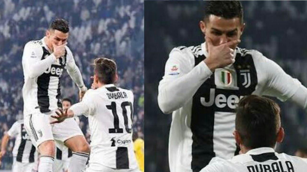 Selebrasi Ronaldo Ala Dybala