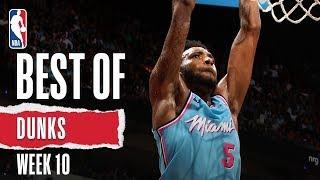 NBA's Best Dunks | Week 10 | 2019-20 NBA Season