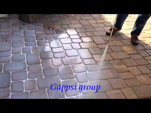 Paving Stones Cleaning  Sealing  Concrete Sealer For