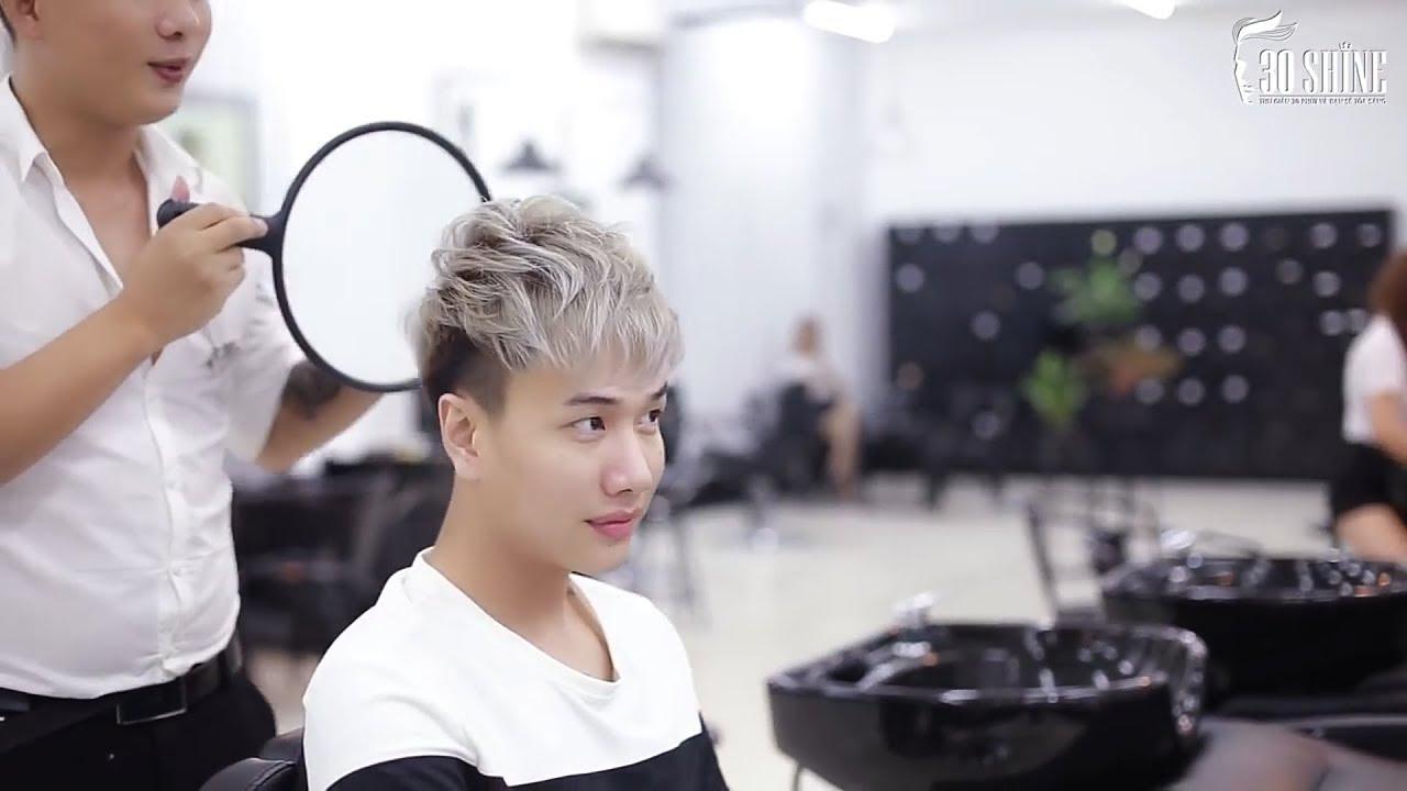 Cùng Lou Hoàng Tạo Kiểu Layer Xám Khói  | Tóc Đẹp Nam Official | Những kiểu tóc nam dẫn đầu xu hướng