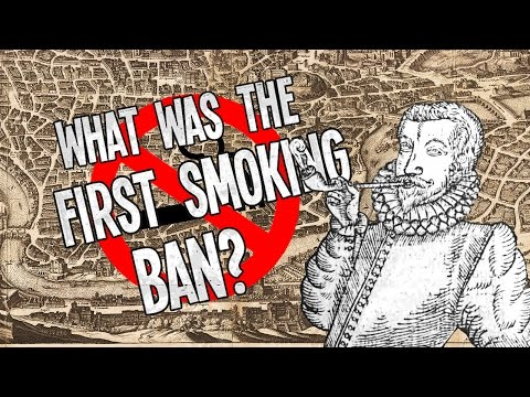 What Was The First Smoking Ban?