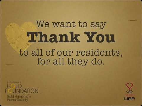 University of Puerto Rico School of Medicine celebrates Thank A Resident Day