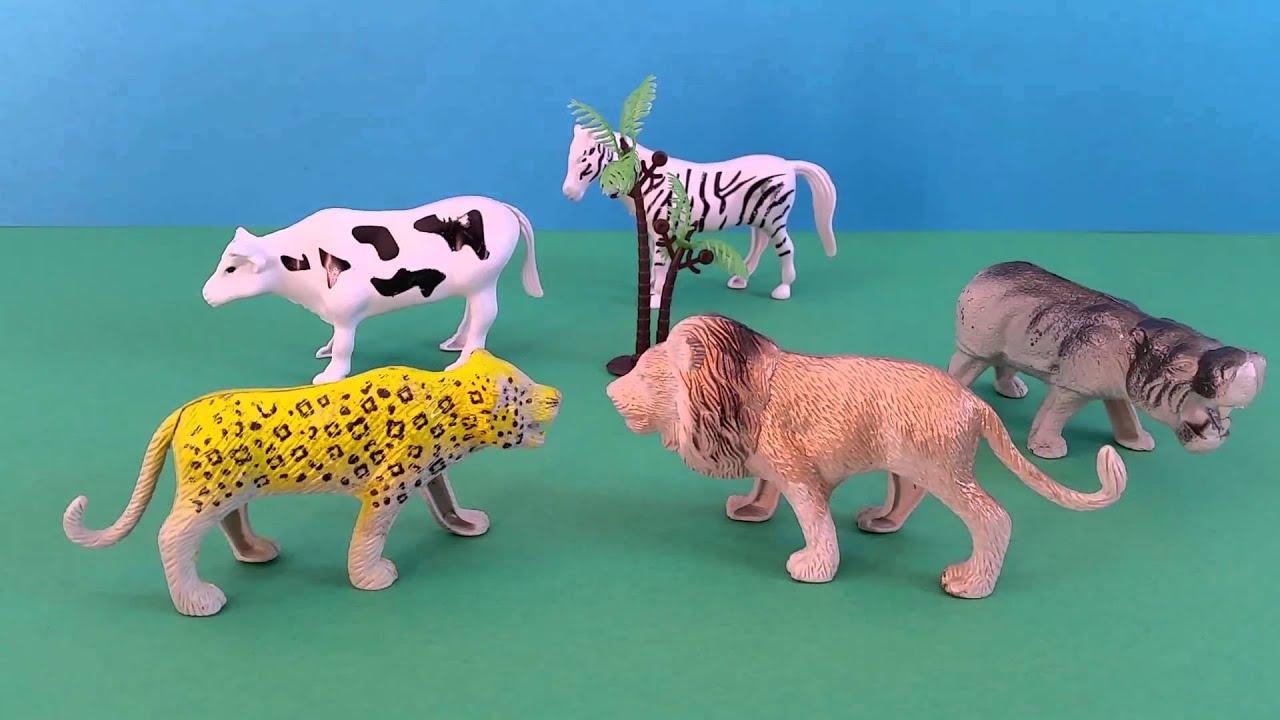 Safari Zoo Animals Toys with Animal Sounds