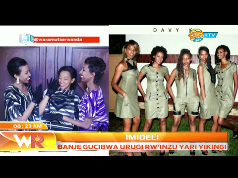Davy-Carmel talks about DavyK fashion brand in Waramutse Rwanda
