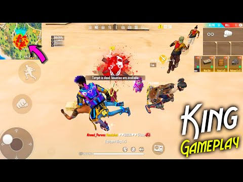 Play Free Fire Like A King   Awesome Gameplay 20 Kills With @P.K. GAMERS  Squad   Garena Free Fire