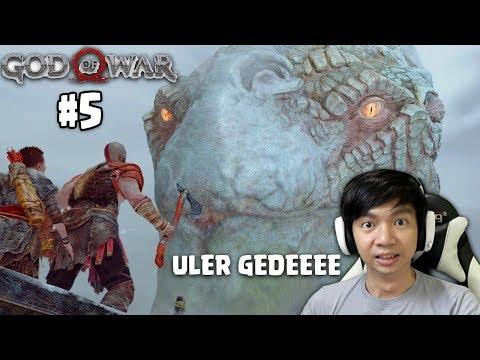 Ketemu Uler GEDE | God Of War | Indonesia | Part 5