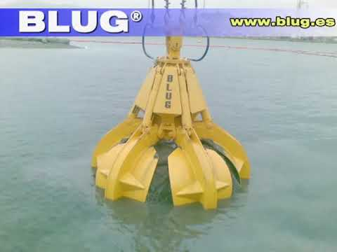 BLUG Hydraulic Grab for Dredging/ Pulpo No Autonomo Para Draga (PNA-1,8)