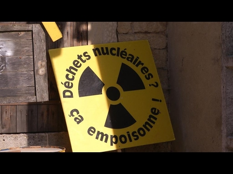 Battle to stop nuclear waste being buried in a French village