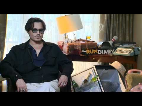 Johnny Depp Talks about The Rum Diary