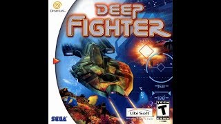 Deep Fighter for SEGA Dreamcast. Intro and game play.