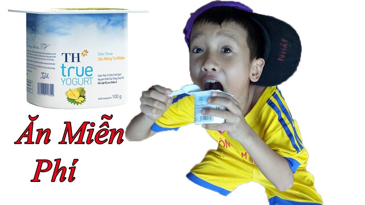 Lùn Tippi – Trò Đùa Ăn Sữa Chua Miễn Phí