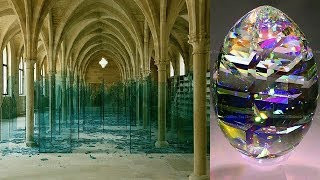 Top 50 Most Beautiful Broken Glass Art Ideas | Top 50 Most Amazing Broken Glass Decorating Ideas