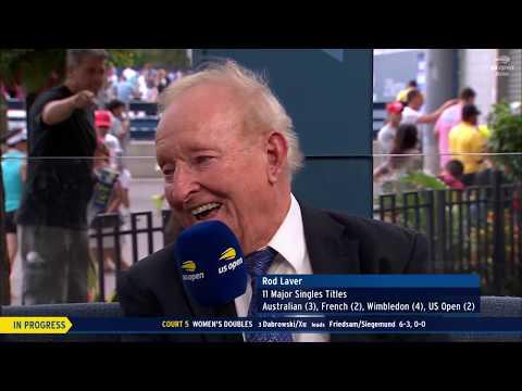 Rod Laver | US Open Now Interview