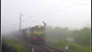 Mega Offlink : GOC ALCo With Sethu Express Blasts Through Fog