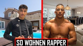 🔴 Die Häuser & Wohnungen der Rapper | Top 10 🔴 Gzuz, Capital Bra, Mero