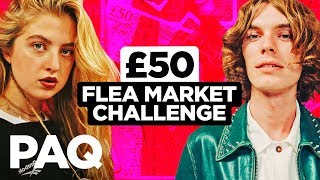 £50 Flea Market Thrift ft. Anais Gallagher | PAQ Ep #69 | A Show About Streetwear and Fashion