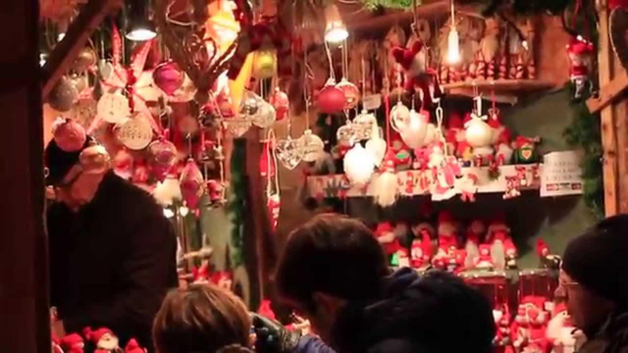 Stockholm Sweden Christmas Market 2014 Youtube