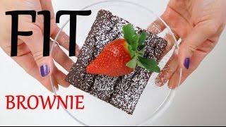 FIT Brownie z fasoli (bez glutenu, bez cukru, bez laktozy) | Ugotowani.tv HD