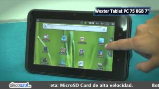 Woxter Tablet PC 75 8GB 7