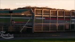 McLaren Honda Silverstone 2014
