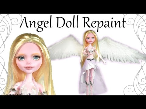How to: Angel Doll Repaint - Tutorial