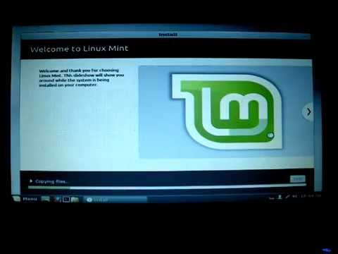 Fail to install Linux Mint on old/legacy computer, with acpi=off option