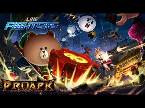LINE FIGHTERS Gameplay Android / iOS