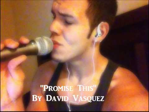 Adele & Cheryl Cole - Promise This (Acoustic Cover By David Vasquez)