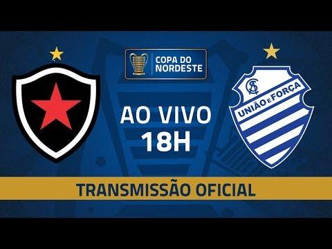 AO VIVO: Botafogo x CSA | Quartas de final | Copa do Nordeste 2019