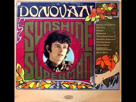 Donovan - Three King Fishers, Mono 1966 Epic LP record.