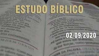 Estudo Bíblico (Carta aos Romanos - Capítulo 8) - 02/09/2020