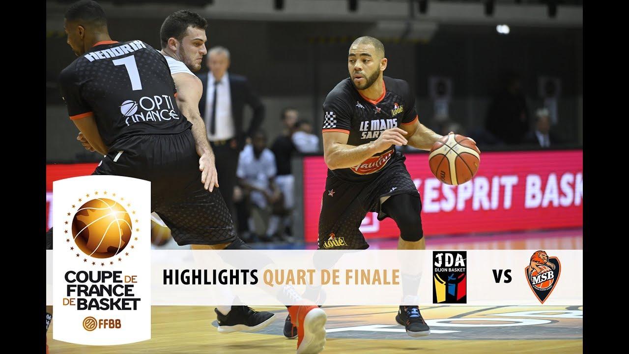 Highlights quart de finale coupe de france 2019 dijon - Quarts de finale coupe de france ...