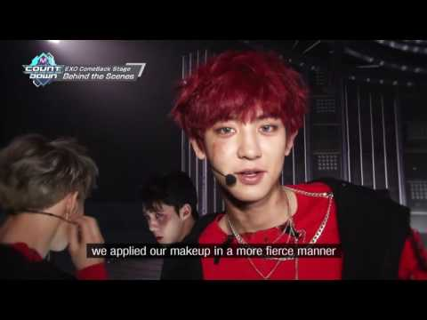 EXO ComeBack Stage Behind The Scenes