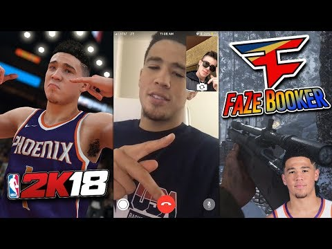 Devin Booker VS. FaZe Adapt (NBA SUPERSTAR)