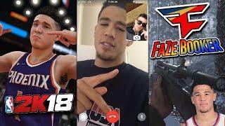 Devin Booker VS. FaZe Adapt (NBA SUPERSTAR)