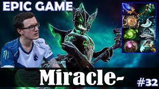 Miracle - Outworld Devourer MID | EPIC GAME with Crit (Rubick) | Dota 2 Pro MMR Gameplay #32